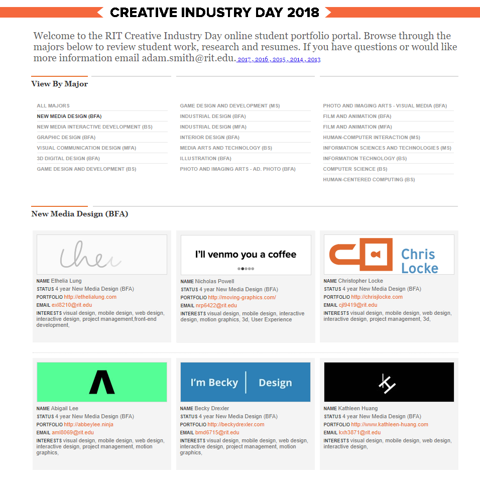rit creativity careers in motion